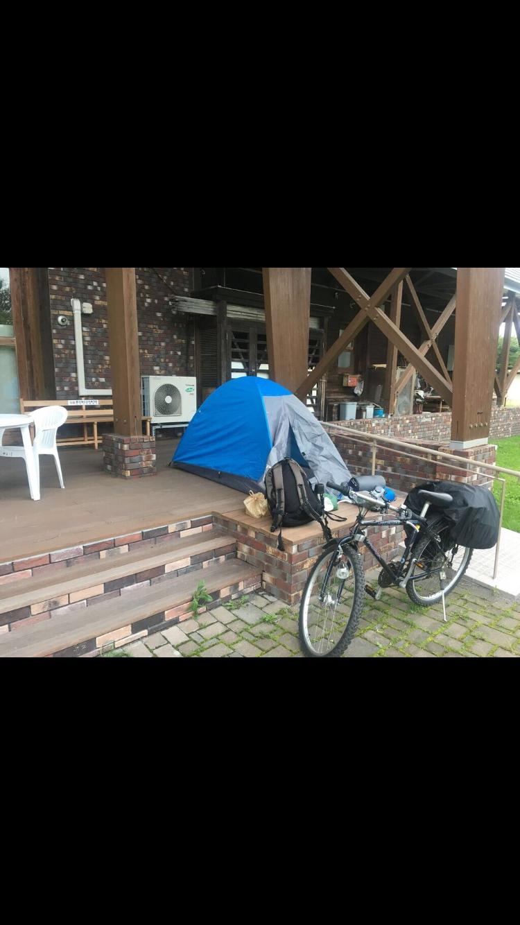 北海道,自転車,チャリダー,テント,野宿,キャンプ,寝袋,野営,セイコーマート,オロロン街道,