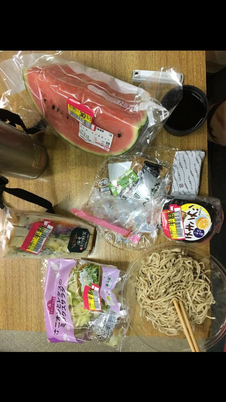 北海道チャリダー夜飯はもちろんキャパオーバー