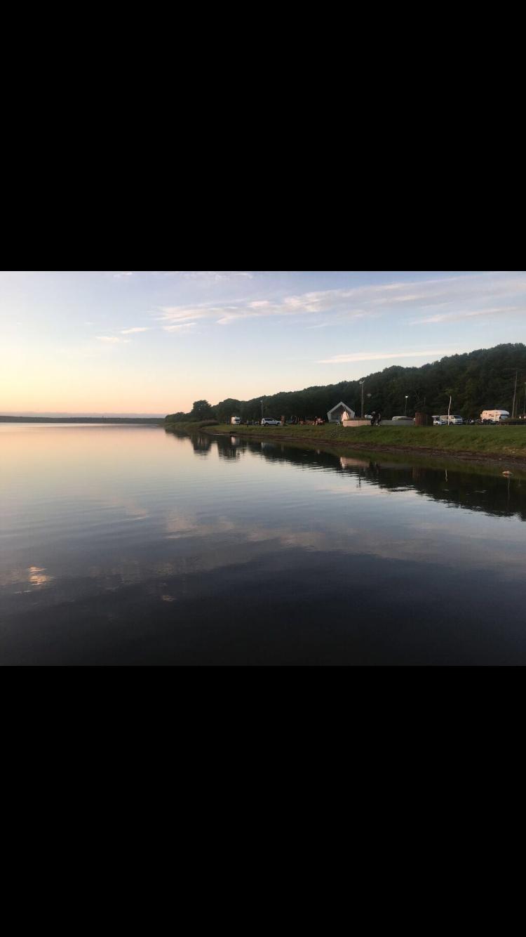 クッチャロ湖夕焼け