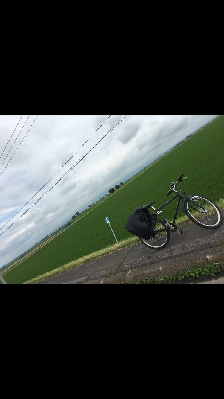 北海道旭川大自然と畑とチャリンコ