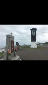 北海道,自転車,チャリダー,聖地, オロロン街道, 地平線,空一面,絶景,道中,代わり映えの無い景色