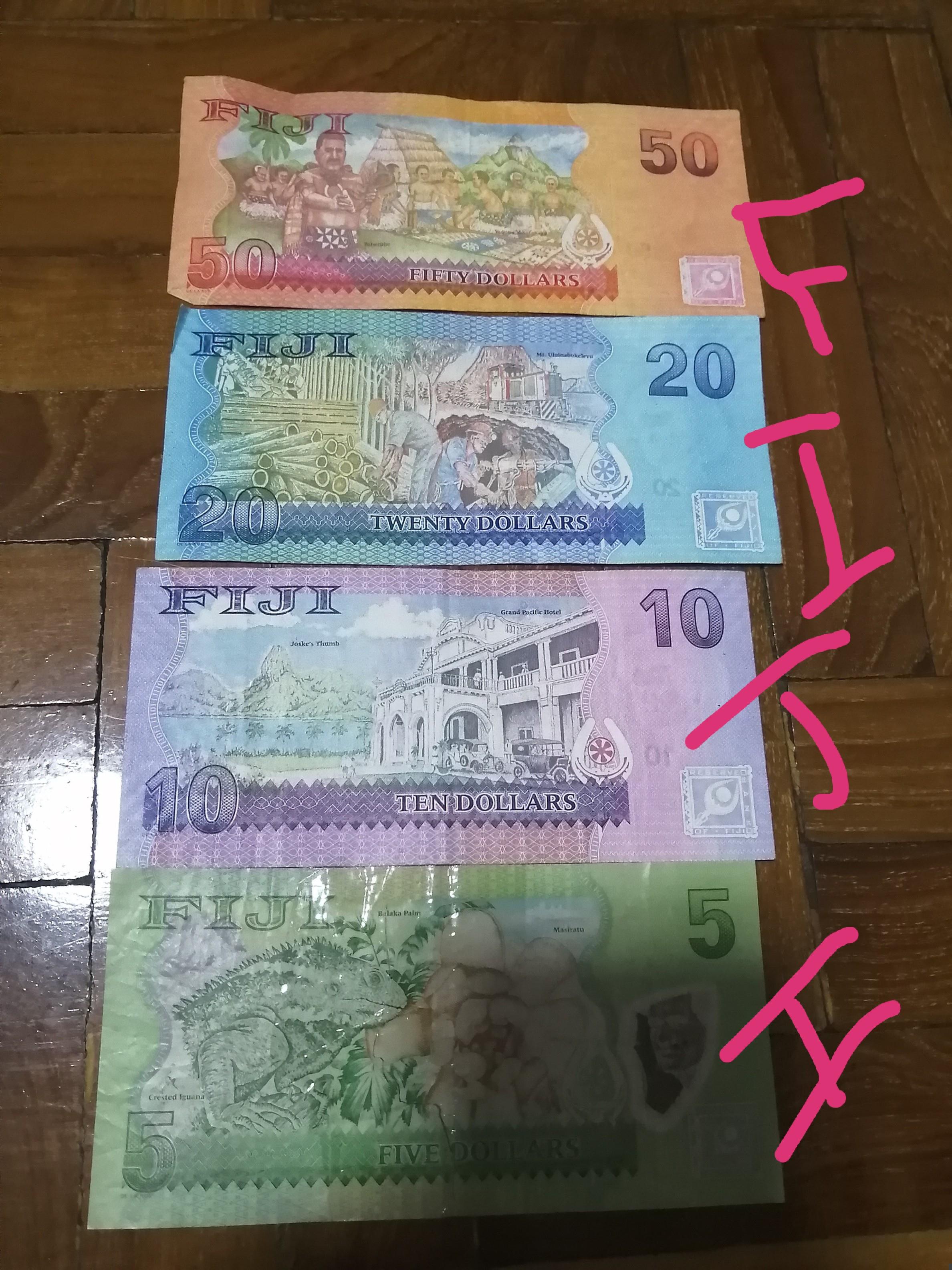 フィジー,お札,お金,紹介,物価,